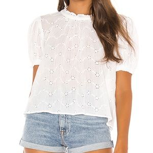 Free People Letter to Juliet Top Ivory